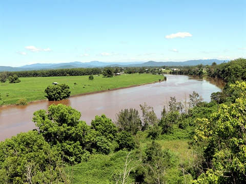 The Macleay River seen from Green Hill lookout